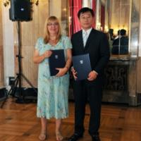 Потписивање споразума о сарадњи са Централном библиотеком Кине