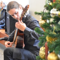 Новогодишњи концерт у подне. Наступа МШ &quot;Др Војислав Вучковић&quot;<br />